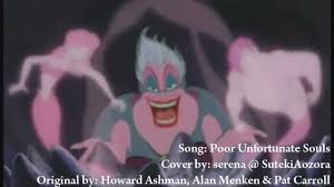 Corpse Bride Tears To Shed Mp3 Download by Serena Poor Unfortunate Souls The Little Mermaid Cover Youtube