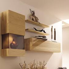 Image Of Wall Mounted Display Shelves Collectibles