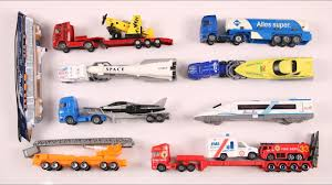 100 Bullet Trucks Learn Heavy Duty Vehicles For Kids With Trailer Cruise Ship