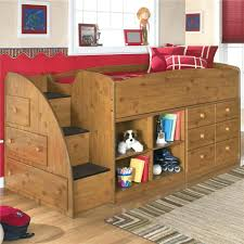 Low Loft Bed With Desk by Beds Loft Style Bunk Bed Plans Wooden Beds With Desk Stairs Loft