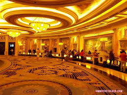 Caesars Palace Hotel Front Desk by Caesars Palace From