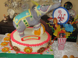 Cake Decoration Ideas With Gems by Big Top Circus Birthday Ideas U2014 Click Cut Create