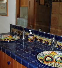 tile top dining table mollai collection tile top mexican tile
