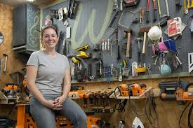 triton tools meet april wilkerson from woodworking novice to