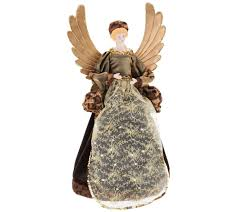 Qvc Christmas Tree Topper by Dennis Basso 18