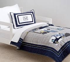 construction toddler bedding pottery barn kids baby utility