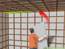 Hanging Drywall On Ceiling Trusses by How To Install Ceiling Drywall 14 Steps With Pictures Wikihow