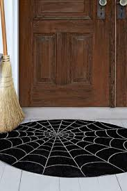 Halloween Craft Spiderweb Doormat