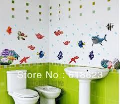 Disney Finding Nemo Bathroom Accessories by Shark Bathroom Wall Mural Disney Finding Nemo Wall Sticker Decor