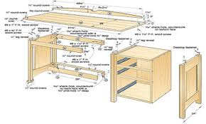 wood kitchen work table free woodworking plans desk wood computer