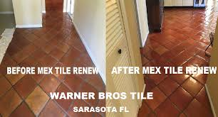 mexican tile renew sarasota fl cleaning sealing mexican tile