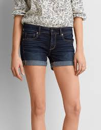 denim stretch shorts american eagle outfitters