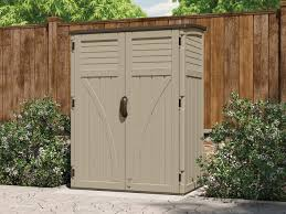Rubbermaid Horizontal Storage Shed 32 Cu Ft by 54 Cu Ft Vertical Shed Suncast Corporation