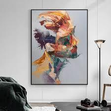 wohnzimmer abstrakt moderne bilder mit rahmen louiskowa