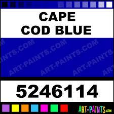 Cape Cod Blue Dry PermEnamel Stained Glass Window Paints 5246114