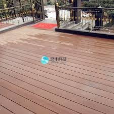 Waterproof Flooring Named WPC Deck For Patio Terrace Or Balcony