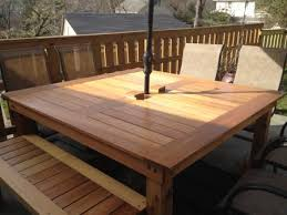 build your own patio table so pretty free step by step diy plans