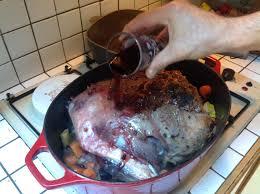 comment cuisiner cuissot sanglier gigot de sanglier au four le chef jeffle chef jeff