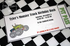 Monster Truck Birthday Party | Monster Truck Birthday, Monster ... Mr Vs 3rd Monster Truck Birthday Party Part Ii The Fun And Cake Monster Truck Food Labels Mrruck_party_invitions_mplatesjpg Unique Free Printable Grave Digger Invitations Gallery Marvelous Ideas At In A Box Cool Blue Card Truck Birthday Blaze The Machine Invitation On Design Of Jam Ticket Style Personalized 599 Sophisticated Photo Christmas Card