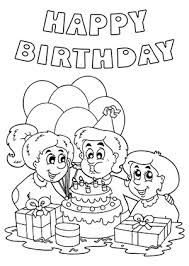 Birthday black and white cool and funny printable happy birthday card clip art ideas