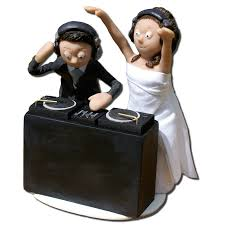 Full Size of Cake Toppers Imagination Humorous Wedding Uk Topper Gallery By Concrete Lobster s Dj