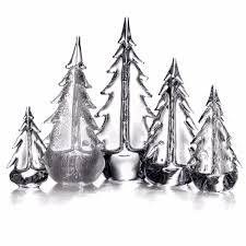 Simon Pearce Christmas Trees by Pearce Brilliant Evergreen Forest