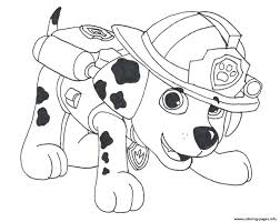 Paw Patrol Marshall Draw 2 Coloring Pages Printable And Book To Print For Free Find More Online Kids Adults Of