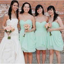 Mint Green Bridesmaid DressesKnee Length GownSummer GownsBeach DressCheap GownFall Dress For