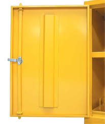 Flammable Liquid Storage Cabinet Requirements by Bright Yellow Mini Storage Cabinets For Flammable Liquids Safetyshop