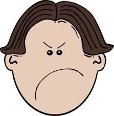 Angry Boy Face Clipart 37