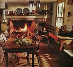 Early American Decorating Ideas Conversant Photos On Eaacbdbfccaaaf Cottage Kitchens Dream Jpg