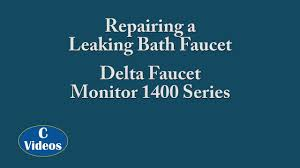 Delta Faucet Dripping Bathroom by Repairing A Leaking Faucet U2013 Delta Faucet Monitor 1400 Series