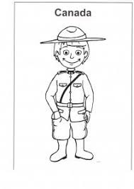 Multicultural Resources Canada Colouring Page
