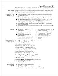 Resume Sample Nurse Registered Best Of Nursing Samples Newly