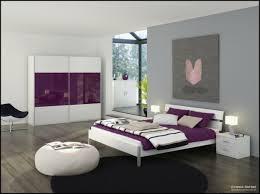 chambre violet et chambre moderne violette