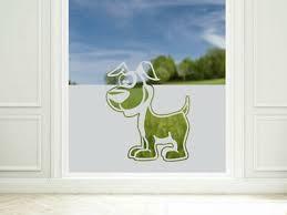 sichtschutzfolie hund fensterfolie wohnzimmer kinderzimmer glastür aufkleber ebay