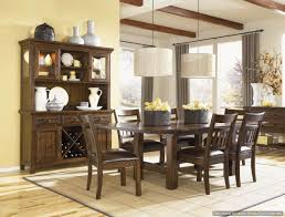 Ortanique Dining Room Table by West Side 9 Pc Dining Room Set W Slat Back Side Chairs 560 S2