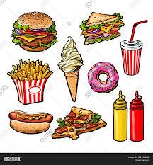 Drawn burger easy food 2