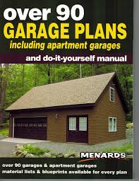 Menards Shed Building Plans by Over 90 Garage Plans Including Apartment Garages And Do It