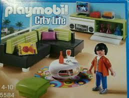 playmobil city wohnzimmer 5584 wie neu ovp