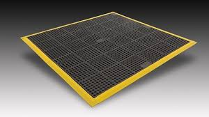 Industrial Anti Slip Floor Mats & Non Skid Rubber Mats