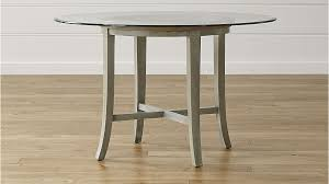 Crate And Barrel Dining Room Chairs by Halo Grey Round Dining Tables With Glass Top Crate And Barrel