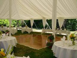 Outdoor Tent Wedding Reception Ideas