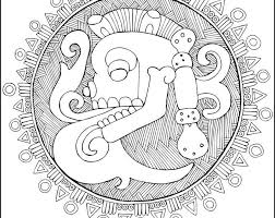 Mexican Day Of The Dead Coloring Pages By Kalakita