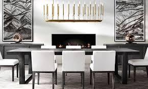 Fine Dining Room Tables Lusting After Rh Modern Pinterest