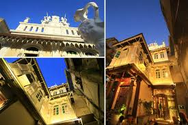 Artistic Abode French Haveli In Gujarat