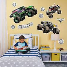 Exelent Monster Jam Wall Decor Motif - The Wall Art Decorations ... Monster Truck Vinyl Wall Decal Car Son Room Decor Garage Art Grave Digger Fathead Jr Shop For Sticker Launch Os_mb592 Products Tagged Cstruction Decal Stephen Edward Graphics Blue Thunder Trucks And Decals Stickers Jam El Toro Giant Elegant Familytreeshistorycom Blaze The Machines Scene Setters Decorating Kit Decals Home Fniture Diy Mohawk Warrior Warrior Monster Trucks Jam Wall Stickers Transportation 15 Fire