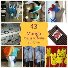 43 Manga Crafts Make Home