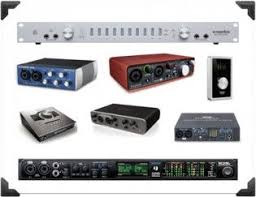 Audio Interface Options Ehomerecordingstudio Recording Studio Equipment List