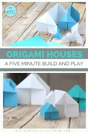 100 Origami House A Five Minute Make And Play Craft Shopping